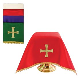Chalice veil with Cross design Set of 4 colors