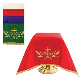Chalice Veil with Cross design, Set of 4 colors