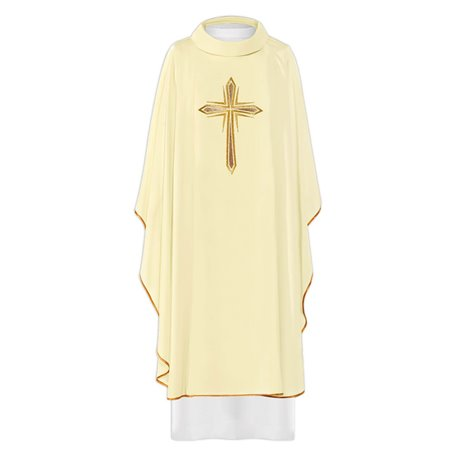 Chasuble Vestment with elegant Cross design
